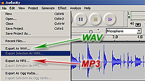 The Beyond: Unearthing Evidence » Transferring Your Audio